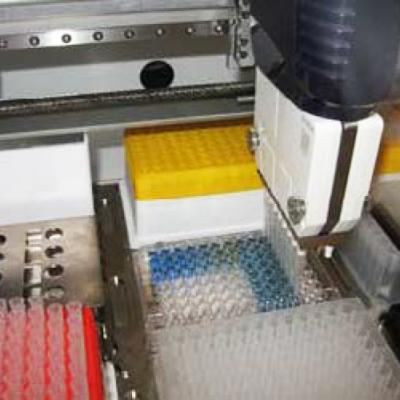 Automation of the Coomassie Bradford Protein Assay Using a Multiple Channel Bench Top Pipetting System